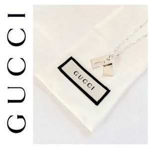 NEW authentic GUCCI sterling silver G bracelet